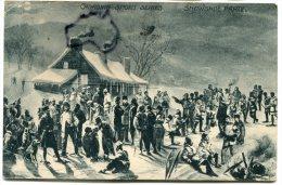 - Canadien Sport  Séries - Snowshoe Party, épaisse, Super Animation, écrite En 1914, BE, Scans. - Montreal