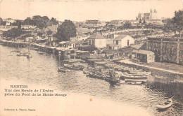 NANTES  - Les Bords De L´Erdre - Vue Prise Du Pont De La Motte Rouge - Nantes