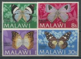 Malawi 1973 Schmetterlinge 195/98 I Postfrisch - Malawi (1964-...)