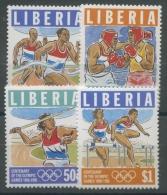Liberia 1996 100 Jahre Olympiade Der Neuzeit 1656/59 Postfrisch - Liberia