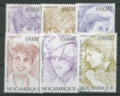 Mocambique 1999 Prinzessin Diana 1458/63 Postfrisch - Mosambik