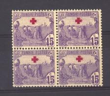 03258  -  Tunisie  :   Yv  47   **   Bloc De 4 - Unused Stamps