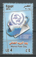 Egypt - 2014 - ( World Post Day ) - MNH (**) - Nuovi