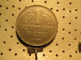 GERMANY 1 Mark 1957 D  # 3 - 1 Mark