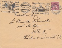K5245 - Czechoslovakia (1937) Frantiskovy Lazne: Franzensbad Treats Women And Heart Disease; Rheumatism, Obesity - Otros