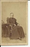 CABINET  PHOTO,  CDV   --  WIEN, AUSTRIA  --  PRIEST  --  FOTOGR. : L. ANGERER -- 10 Cm  X 6 Cm - Ancianas (antes De 1900)