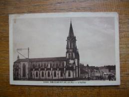 """Baccarat , L'église """" Carte Animée """""""" - Baccarat"""