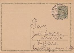 Czechoslovakia; Domestic Postal Card 1932 - Cartes Postales