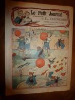 1904 LPJij: Exploit D'un CHIEN Et D'une PIE; Le LOUP-GAROU;L' AUTRUCHE Merveilleuse; Jouet Fait Avec Morceaux De Bougie - Journaux - Quotidiens