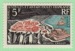 FSA SC #23 MNH  1963 International Quiet Sun Year, CV $60.00 - French Southern And Antarctic Territories (TAAF)