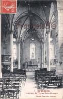 (37) Bourgueil - Intérieur De L'Eglise Saint St Germain - 2 SCANS - France