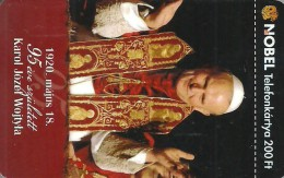 POPE JOHN PAUL II * KAROL JOZEF WOJTYLA * VATICAN POLAND POLISH * EIZABETH II QUEEN * UNITED KINGDOM * MMK 468 * Hungary - Ungheria