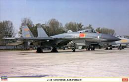 J-11 Chinese Air Force  1/72 ( Hasegawa ) - Airplanes