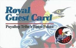 Puyallup Tribal Casino Tacoma WA Royal Guest Card - Casino Cards