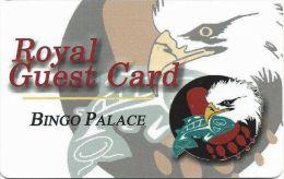Puyallup Tribal Casino Tacoma WA Royal Guest Card Bingo Palace - Casino Cards