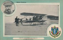 AVIATION - Monoplan Caudron - Circuit Européen - Juin Juillet 1911 - Le Départ De Duval - Airmen, Fliers