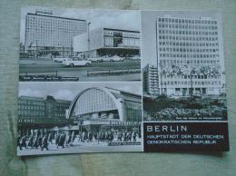 Germany   BERLIN  Hotel Berolina  Und Kino International  Cinema - S-Bahnhof  Alexanderplatz     D134421 - Germania