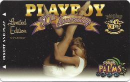 Palms Casino Las Vegas Limited Edition Playboy 50th Anniversary Card - Casino Cards