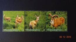 Turkmenistan 2009 Mi. Nr. 270-272 Fauna Wild Gazelle - Turkmenistan