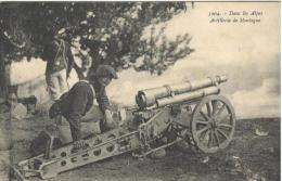 MILITARI - MANOVRE - Artiglieria Di Montagna Nelle Alpi - Manovre
