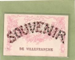 VILLEFRANCHE   SOUVENIR - Villefranche-sur-Saone