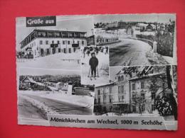 Monichkirchen Am Wechsel,1000 M Seehohe - Neunkirchen