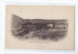 CPA 84 - SEGURET - La Gare - TB PLAN D'une Partie Du Village + Edifice Derroviaire CHEMIN DE FER ANIMATION - France