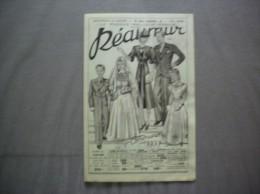 NANTES REAUMUR VETEMENTS 10 RUE LAFAYETTE  DEPLIANT PUBLICITAIRE1ère COMMUNION 1939 - Advertising