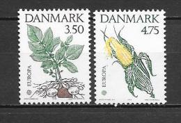 DANEMARK - 1992 - EUROPA - CHRISTOPHE COLOMB - N° 1028/1029 - NEUF*** - Europa-CEPT