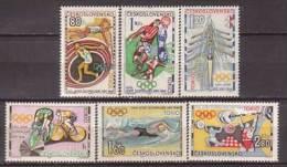 Tschechoslowakei / CSSR , 1964 , Mi.Nr. 1488 - 1493 ** / MNH - Tschechoslowakei/CSSR