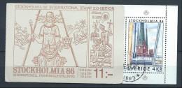 Suède 1985 Carnet C 1316 Oblitéré Expo Stockholmia 86 - Carnets