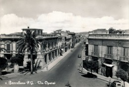 BARCELLONA  (ME) VIA OPERAI 1961 - Messina
