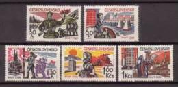 Tschechoslowakei / CSSR , 1965 , Mi.Nr. 1533 - 1537 ** / MNH - Tschechoslowakei/CSSR