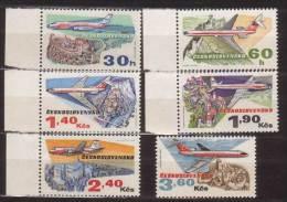 Tschechoslowakei / CSSR , 1973 , Mi.Nr. 2166 - 2171 ** / MNH - Tschechoslowakei/CSSR