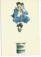 GERVAIS  - Pierre Delavie Et Philippe Lambert -  Humour à La Carte PU 277 - Publicité