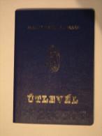 +++ Hungary - Passport Passeport 1993 Blue Szg Db01 - Documenti Storici
