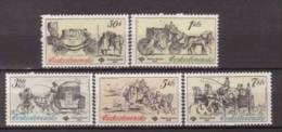 Tschechoslowakei / CSSR , 1981 , Mi.Nr. 2598 - 2602 ** / MNH - Tschechoslowakei/CSSR