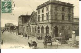 CPA BORDEAUX La Gare  D'Orléans 12637 - Bordeaux