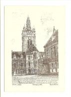 Douai (59) L'hotel De Ville - Sites Et Monuments - Douai