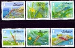 Alderney MiNr. 369/74 **, Einheimische Libellen - Alderney