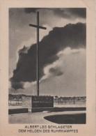 Düsseldorf - S/w Albert Leo Schlageter Denkmal - Düsseldorf