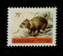 (cl. 3 - P27) Tanzanie ** N° 167 (ref. Michel Au Dos) - Le Daman Des Rochers - - Tanzanie (1964-...)