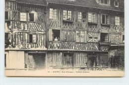DIEPPE - Rue D'écosse, Vieilles Maisons. - Dieppe