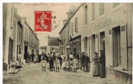 Sermaise Du Loiret: Rue De Chartres, Devanture Café, Beau Plan, Très Belle Animation - Unclassified