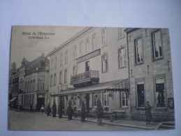 Valkenburg // Hotel De L´Empereur // Winkel Max Corriaux Rechts Vh Hotel // 19?? - Valkenburg