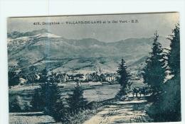 VILLARD De LANS - Vue Générale Et Le Col Vert - 2 Scans - Villard-de-Lans