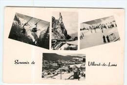 VILLARD De LANS - Souvenir En 5 Vues - 2 Scans - Villard-de-Lans