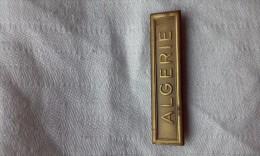 Barrette Militaire ALGÉRIE - Badges & Ribbons