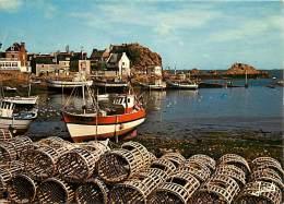 Gd Format Div- Ref R47- Loguivy De La Mer - Le Port De Peche -carte Bon Etat - - Francia