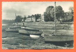 """Dpt  29  Locquenolé  """"  Les Bateaux De Plaisance Au Bord De La Grève """" - Other Municipalities"""